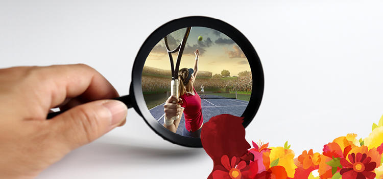 sport through a magnifying glass