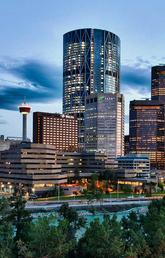 image of downtown Calgary