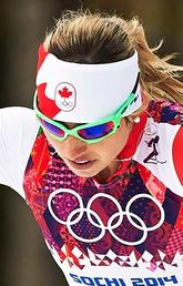 Image of Chandra in the winter Olympics