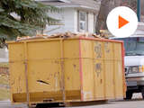 image of construction waste dumpster