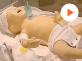image of clinical baby doll